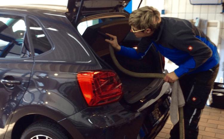 Gewerbliche Fahrzeugpflege